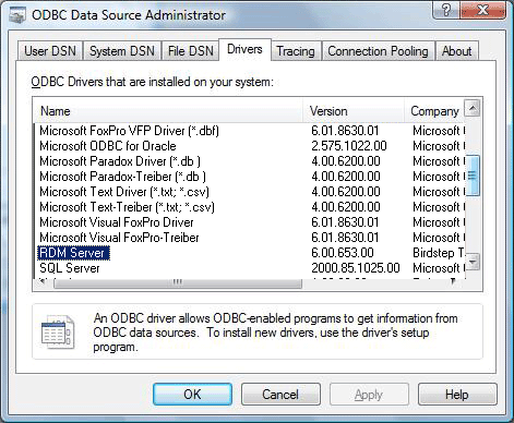 Remove An ODBC Data Source - Collect! Help