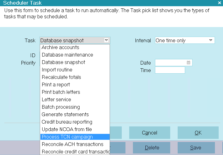 How To Configure Scheduler Tasks - Collect! Help
