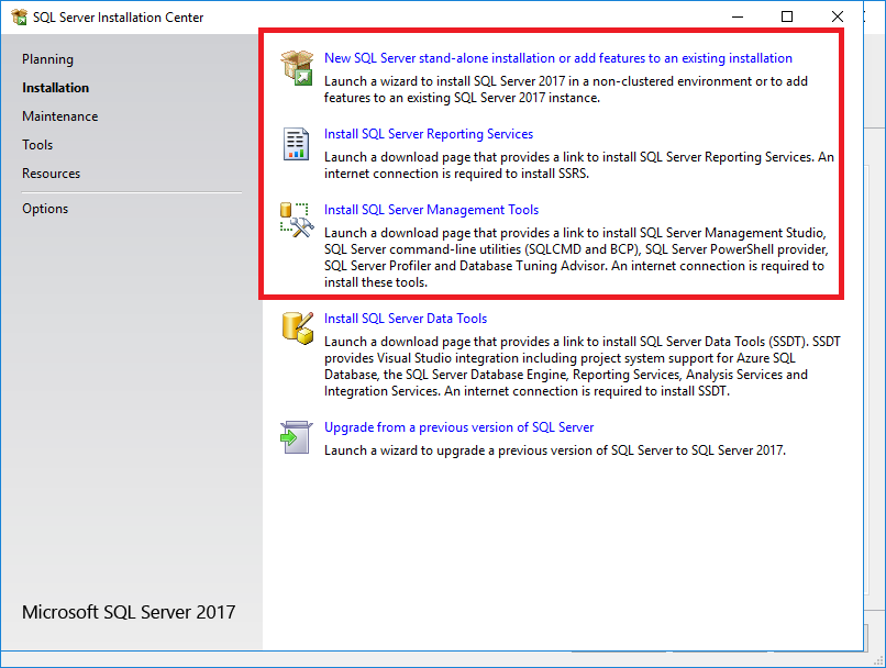 How To Install Microsoft SQL Server - Collect! Help