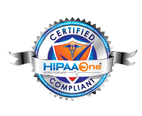 HIPAA One® Certified Seal